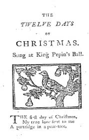 myth 102 twelve days of christmas song has a secret meaning