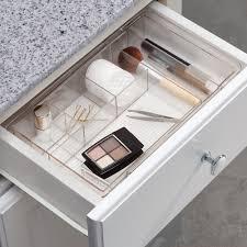 bathroom makeup storage drawers dividers bathroom makeup