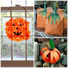 Holiday Crafts For Preschoolers - easy pumpkin crafts for kids to make this fall crafty morning