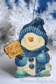 wooden snowman free christmas craft napkin applique wooden snowman craft