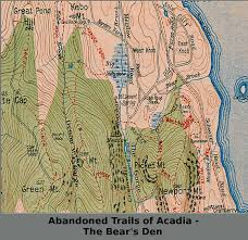 Phantom Tollbooth Map Old Maps Of Acadia National Park Old Maps Collection