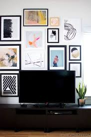 27 best gallery wall with a tv images on pinterest tv gallery