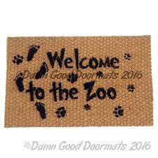 Welcome Doormats Ideas Fantastic Funny Doormats For Frontdoor Decoration Idea