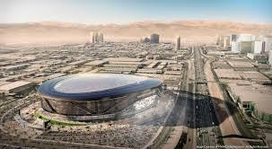 Las Vegas Traffic Map Oakland Raiders Include 1 Annual Rent Fee In Las Vegas Agreement
