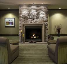 cool outdoor stacked stone fireplace cost on interior design ideas
