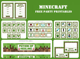 minecraft party invites minecraft party partyworx