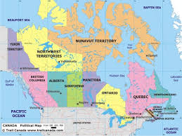 canadian map political canada map