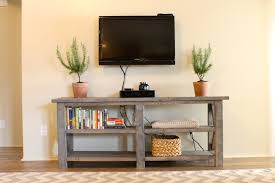 lovely table under mounted tv breathtaking table for under wall