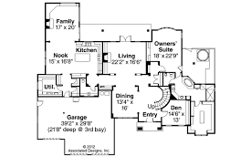 European Floor Plans European House Plans Avalon 30 306 Associated Designs