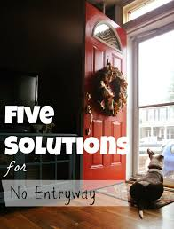 Entryway Solutions Living Small Solutions When You Have No Entryway