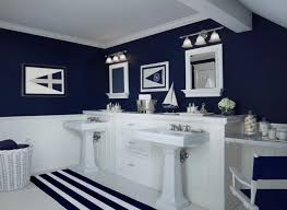 black and blue bathroom ideas navy blue bathroom ideas wall mounted white ceramic sink