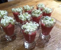 cuisiner des betteraves rouges verrine de betterave et concombre recette de verrine de