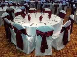 chair covers and sashes 10pcs lot wine satin chair cover sash bows 6 x 106 banquet