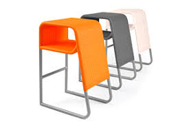 modern orange bar stools outdoor counter bar stool lebello outdoor furniture