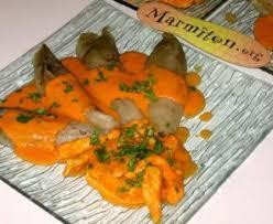 marmiton cuisine facile filets de poulet à la crème de poivron facile recette de filets de