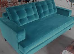 Heals Sofa Bed Bnwt 3 Seater Mistral Heals Sofa In Designers Guild Velvet