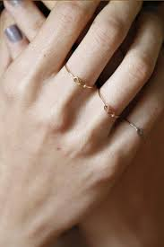 a knot ring 14k knot ring des kohan