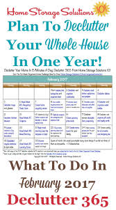 weekly family meal planner template february declutter calendar 15 minute daily missions for month free printable february 2017 decluttering calendar with daily 15 minute missions follow the entire declutter