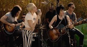 joan jett miley cyrus perform u0027different u0027 for charity ew com