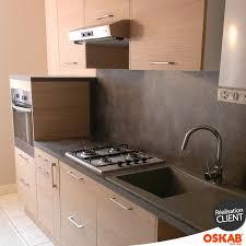 robinet de gaz cuisine cuisine bois moderne implantation en i plan de travail