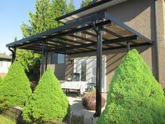 terrasse transparente toiture transparente pour terrasse avec cadre en aluminium