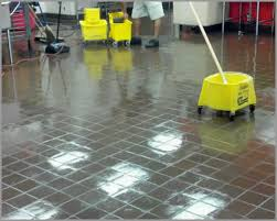 tile floor stripping cleaning and waxing services menomonee