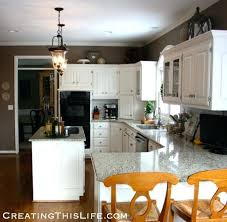 Area Above Kitchen Cabinets Decorating Top Of Kitchen Cabinets Kitchen Decorating Above