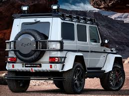 brabus behold the 542 hp brabus adventure 550 4x4 a tuned mercedes for