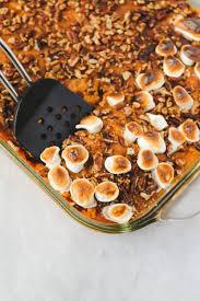 healthy sweet potato casserole vegan from my bowl