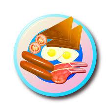 fried egg clipart