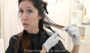 how to dye dark brown hair light brown modern bohemian lifestyle how i maintain ombre balayage hair at home