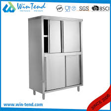 horizontal kitchen storage cabinets high quality stainless steel import kitchen storage cabinets with doors