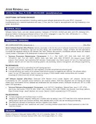 sample resume format for experienced engineers
