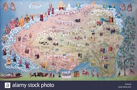 Map Of Nepal And Tibet by Map Of Tibet Stock Photos U0026 Map Of Tibet Stock Images Alamy