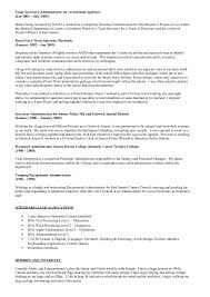 Baker Resume Sample by Zoe Baker Cv Admin Dec 2014