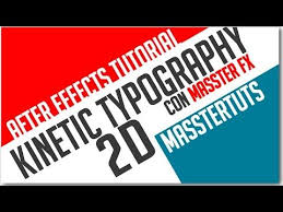 tutorial kinetic typography after effects after effects tutorial kinetic typography 2d youtube adobe