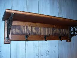 classic wall mounted coat rack with shelf home decorations