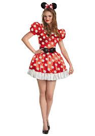 red minnie classic costume