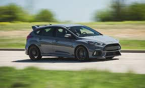 model ford focus 2017 ford focus rs in depth model review car and driver