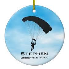skydiving ornaments keepsake ornaments zazzle
