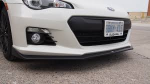 subaru brz front bumper review 2015 subaru brz aozora edition canadian auto review