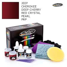 jeep touch up paint jeep cherokee deep cherry red crystal pearl