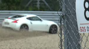 nissan s2000 nissan 370z and honda s2000 have nasty crashes during nurburgring