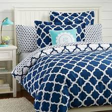 lucky clover reversible duvet cover from pbteen bedding love