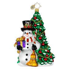 christopher radko ornaments 2014 radko snowman christmas