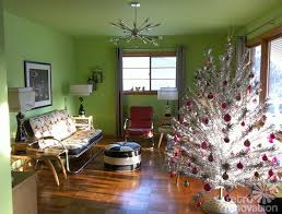 handmade vintage artificial trees decorations