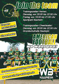 Sportpark Bad Nauheim News Nauheim Wildboys So What