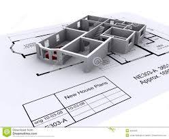 architect plans royalty free stock image image 4646356
