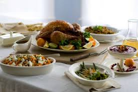 is it a idea to talk about food at the thanksgiving table