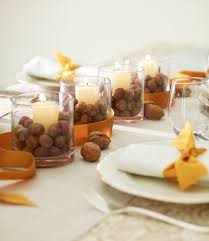 simple table decorations 27 easy thanksgiving centerpieces for your table diy